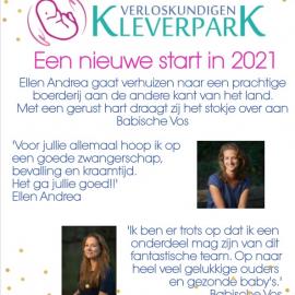 Een nieuwe start in 2021!